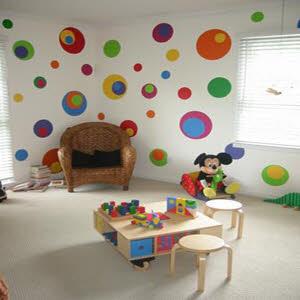 تمیز کردن دیوار های نقاشی شده