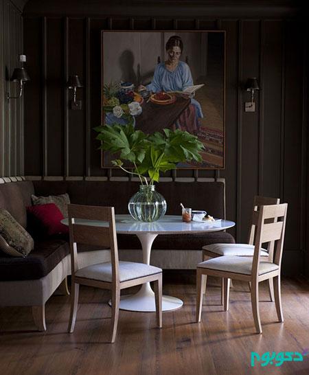 اتاق غذا خوری با دکوراسیونی روح بخش (قسمت اول)
