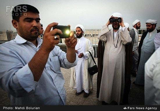 استهلال هلال ماه مبارک رمضان