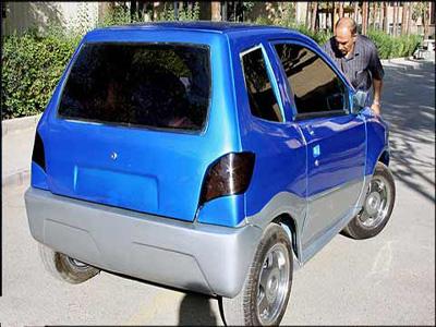 اولین خودروی برقی