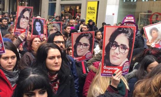 ریشه یابی جنایات علیه زنان در ترکیه