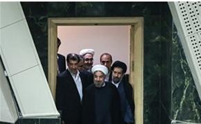 حسن روحانی در مجلس,کابینه روحانی
