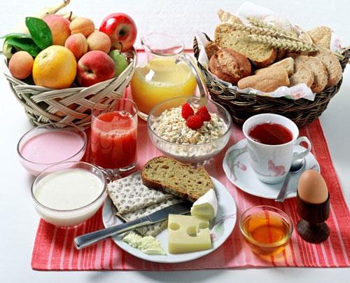 با این صبحانه چاق نمیشوید!