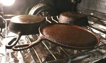 روش درست کردن ظروف چدنی,درست کردن ظروف چدنی قدیمی