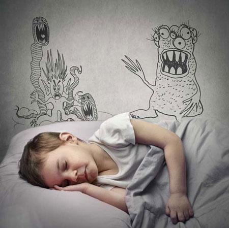 کودکتان کابوس دیده است: چگونه برخورد کنیم؟