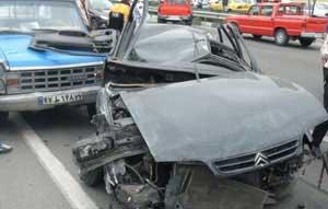 سرنشینان پژو در آتش بی احتیاطی راننده زنده زنده سوختند
