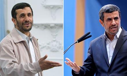 کاپشن احمدی نژاد,لباس احمدی نژاد,کت و شلوار احمدی نژاد