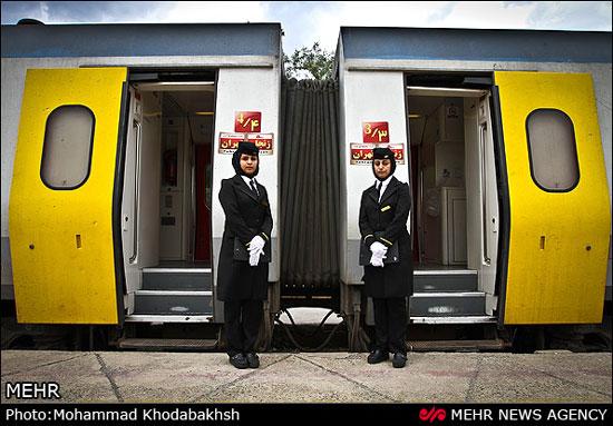 مهمانداران قطار