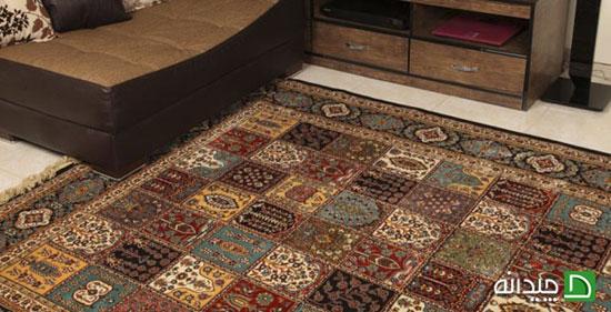 فرش ابریشم، انتخاب خاص لوکس پسندان!