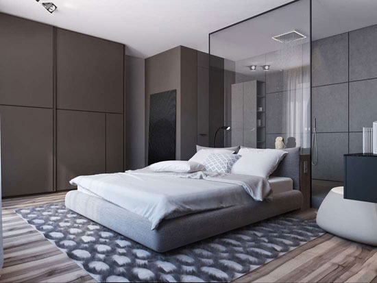 ۲ مدل دکوراسیون داخلی منزل با رنگ خاکستری