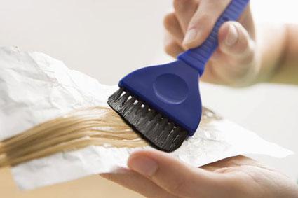 در خانه موهایتان را مش کنید