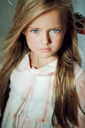 اخبار,اخبار فرهنگی,دختر 8 ساله، نهمین سوپر مدل دنیا