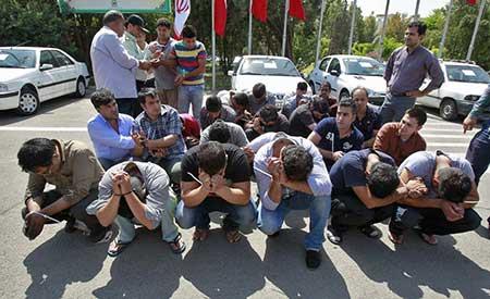 اخبار,اخبار حوادث ,دستگیری زورگیران