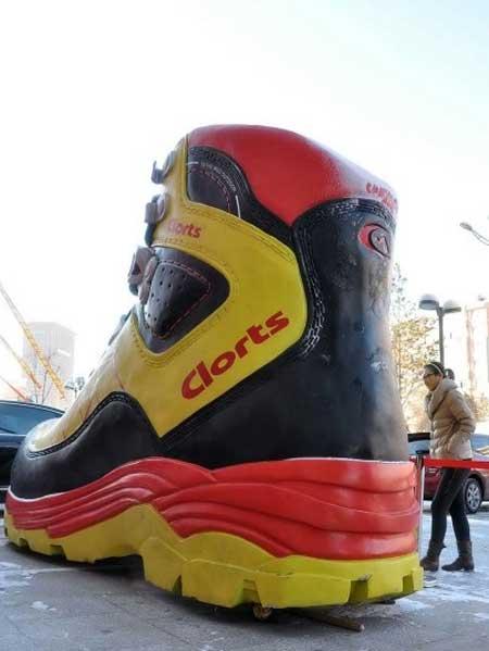 کفش ساخته شده توسط کمپانی چینی