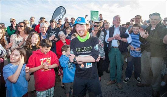 ورزشکار انگلیسی در مدت 621 روز دور جهان دوید
