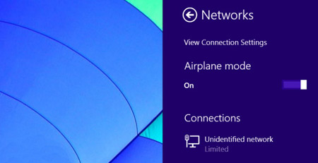 بلوتوث, Airplane Mode, ویندوز 8