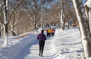 چگونه در هوای سرد ورزش کنیم,ورزش در هوای سرد
