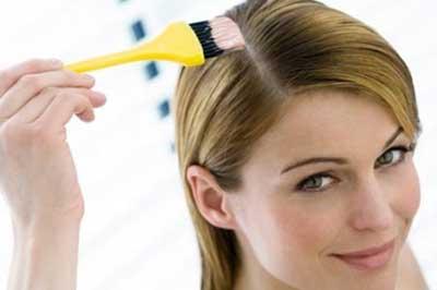 کاهش اثرات مضر رنگ مو