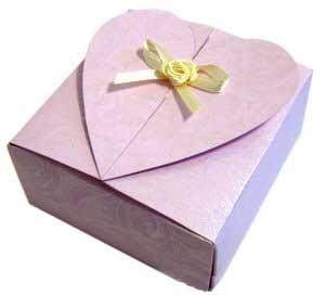 جعبه سازی, ساخت جعبه کادوئی