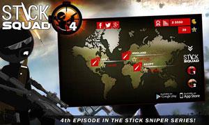 دانلود بازی Stick Squad 4 برای اندروید