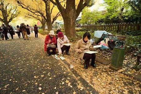 خیابانی شگفت انگیز در توکیو