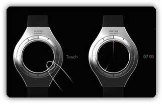 ساعت مچی بدون صفحه و عقربه!