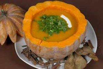 درست کردن سوپ کدو حلوایی, طرز تهیه سوپ کدو