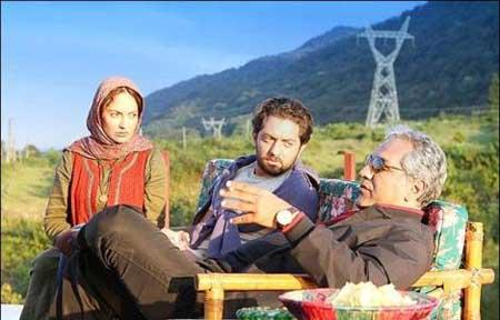 مهران مدیری,بهرام رادان, مهناز افشار