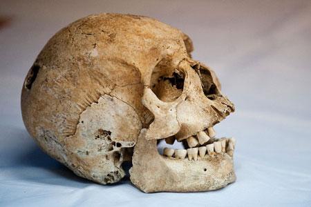 جمجمه کشف شده در کالی کلمبیا مربوط به عصر بومیان