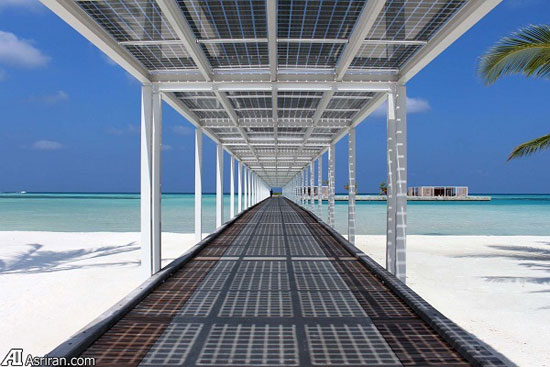 نخستین اقامتگاه تفریحی صد درصد خورشیدی جهان