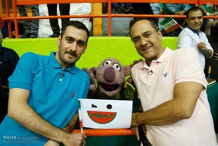 اخبار,جناب خان در بازی والیبال ایران و امریکا