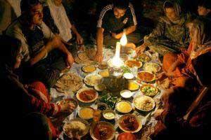 آداب مسلمانان كشورهای مختلف درماه رمضان