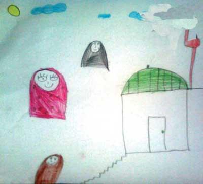 شخصیت شناسی,نقاشی کودک,نقاشیهای کودکان