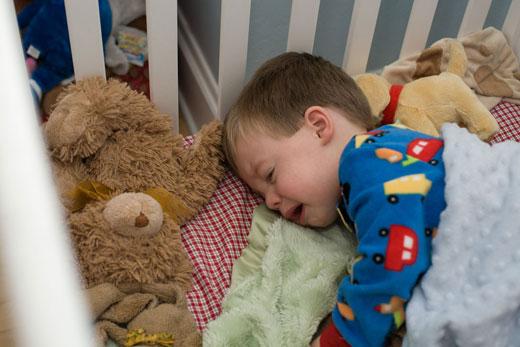 راهکارهایی برای حل مشکل خوابپریشی در کودکان