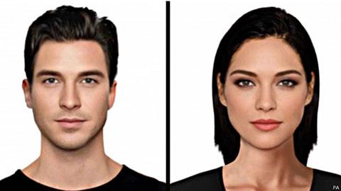 اخبار,نهایت زیبایی چهره زن و مرد از نظر مردم بریتانیا