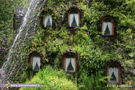اخبار,اخبار گوناگون,تصاویر عجیب ترین هتل ها,کلبه کوهستان