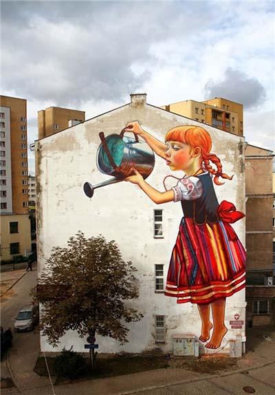 اخبار,اخبار گوناگون,ادغام آثار هنری خیابانی با طبیعت
