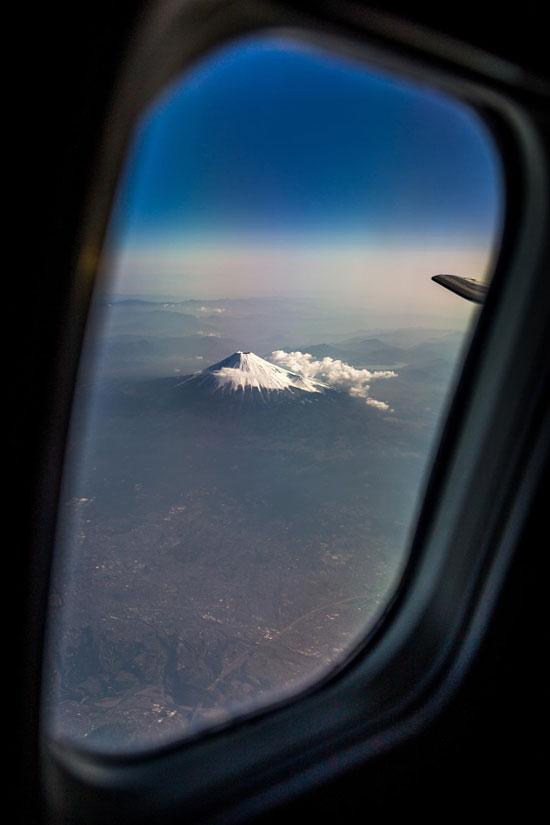 عکاسی از پنجرهی هواپیما