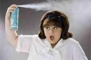 سپری مو در دوران بارداری, اسپری مو زنانه