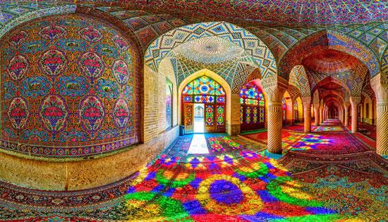 معماری مساجد در ایران