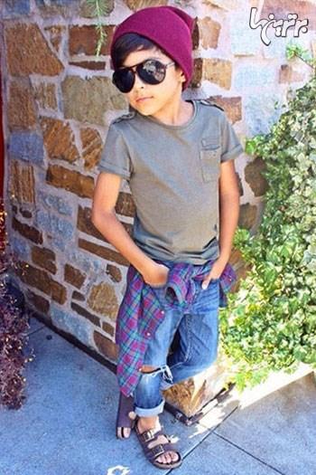 خوش تیپ ترین کودکان دنیای مد در اینستاگرام