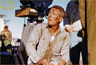 پشت صحنه فیلم,پل نیومن,عکس پل نیومن