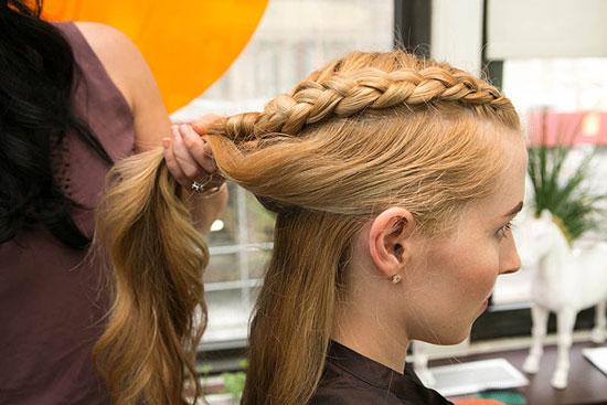 بافت مو به سبک فیلم