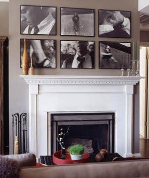 با عکسی که از چند قطعه تشکیل شده دیوار را تزئین کنید