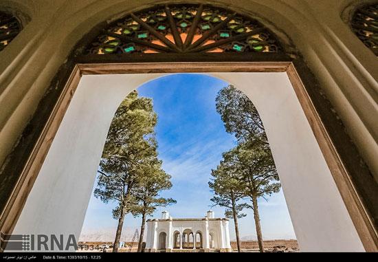 باغ عمارت فتح آباد کرمان (عکس)