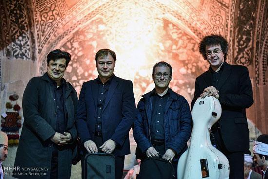کنسرت گروه سازهای زهی لایپزیگ آلمان در حمام وکیل شیراز + عکس