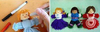 درست کردن عروسک بافتنی,آموزش درست کردن عروسک کاموایی