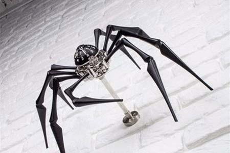 اخبار , اخبار گوناگون,ساعت عنکبوتی,ساخت ساعت عنکبوتی