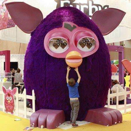 نمایشگاه کودکان در پاریس