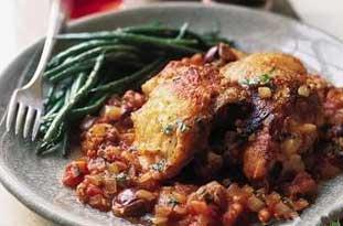 خوراک مرغ ایتالیایی